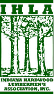 Indiana Hardwood Lumbermens Association Logo